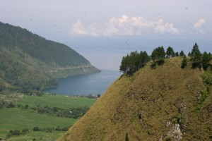 Balige is sitiuated at the end of Lake Toba