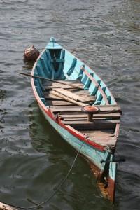 a small canoe