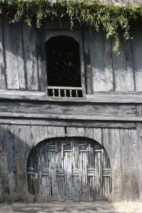 the entry of the house