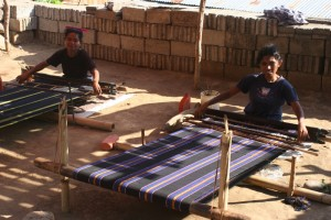 weaving seems to be the most important economic activity in Wolotope