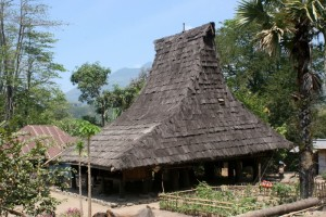 one of the traditional houses in Wolomere
