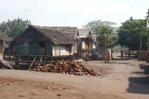 the dusty village of Nanggaha