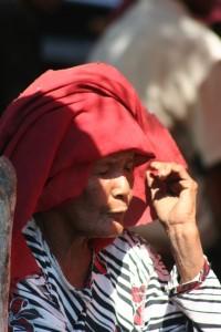 market woman in Talibura