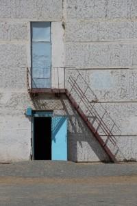 a door in Nukus