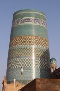 Kalta Minor, the unfinished minaret of Khiva