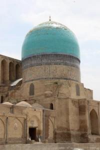 dome of the Dorut-Tilovlat madrasse