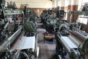 the ancient weaving machines
