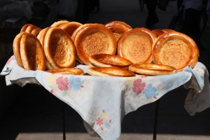 bread is an important element in the Uzbek diet