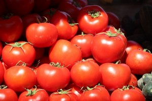 tomatos make a colourful picture