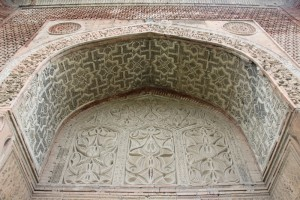 the attraction here is the intricate brickwork, from the time before coloured tiles