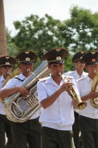 the military band (feels like home, a bit)