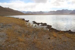 the Shurkul Lake on the way to Rangkul