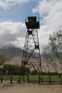 another Soviet watch tower, fairly complete still