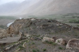 2nd or 3rd Century Khaka Fortress, with commanding valley views