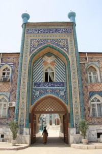 Haji Yakoub mosque, the main mosque in Dushanbe