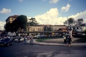 Tirana round-about