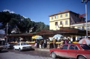 vegetable market in Tirana