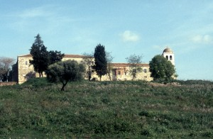 the monastery and museum in Apollonia