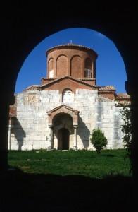 the Byzantine church of Apollonia