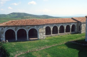 the covered galley of the monastery