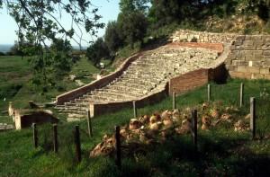 the small Roman theatre