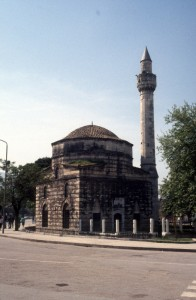 an old mosque in Vlore