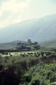 Orikum church, a Orthodox church on Karaburunit peninsula in the south
