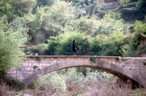 an Ottoman era bridge north of Llogara