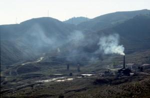 oil installations near the village of Ballsh