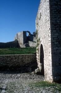 walls of Berat's citadel