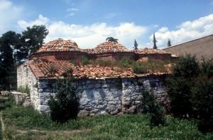 a Turkish hamam (bathhouse) near Elbasan