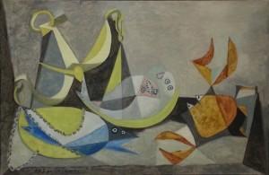 """""""Les Soles"""", oil on canvas (1940) - Pablo Picasso"""