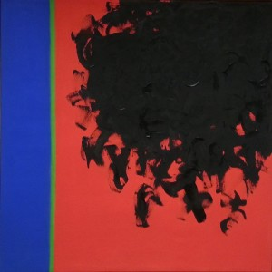 """""""15-1958"""", abstract oil on canvas - William Turnbull"""