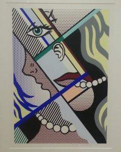 """Modern II"", screenprint on paper - Roy Lichtenstein"