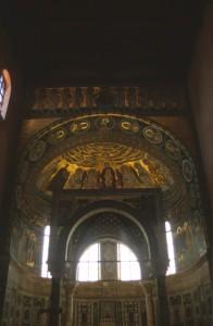 frescos inside the Euphrasian Basilica