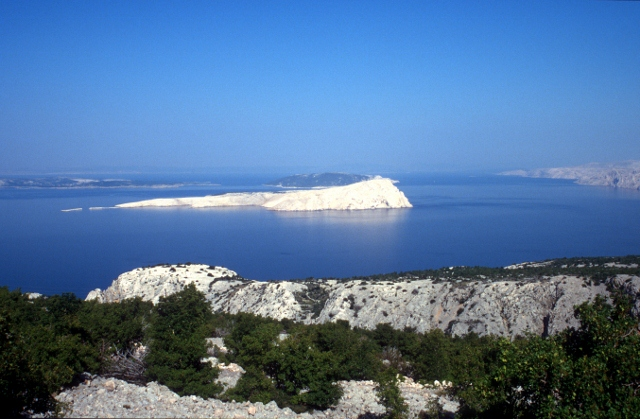 the waters in front of the Dalmatian coast