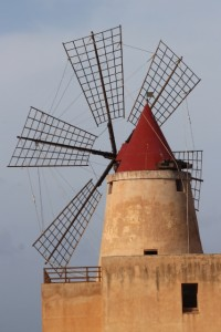 another windmill, in close-up