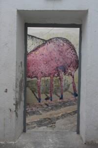 door way, Farm Culture Park