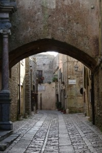 another cobbled street in Erice