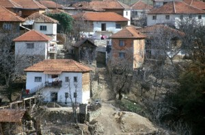 like in Albania, big houses, but no infrastructure to speak of