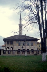 the 'painted mosque' in Tetovo