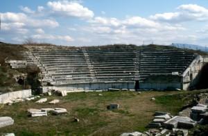 amphitheatre in Stobi