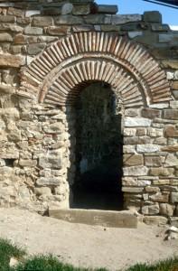 old Roman entrance in Stobi