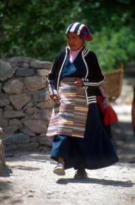 no lack of Tibetan influences here