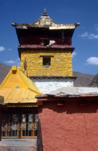 the Trandruk monastery in the Yarlung Valley