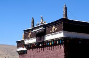 part of the Sakye Monastery