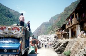 the border post in Nepal