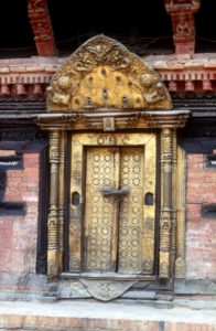 golden door, another temple entry