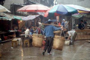 market in Chongqing