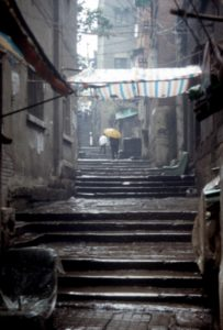 Chongqing is full of stairs